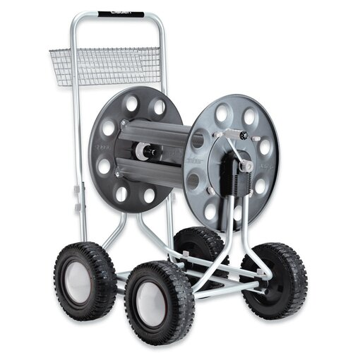 Claber Inc. Jumbo 4 Wheel Hose Cart