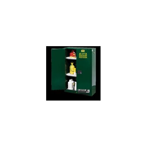 "Justrite 43"" H x 18"" W Sure-Grip® EX Safety Cabinet"