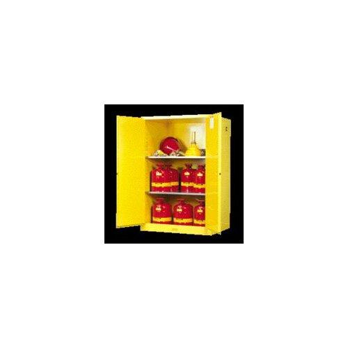 Justrite 30 Gallon Sure-Grip® EX Safety Cabinet