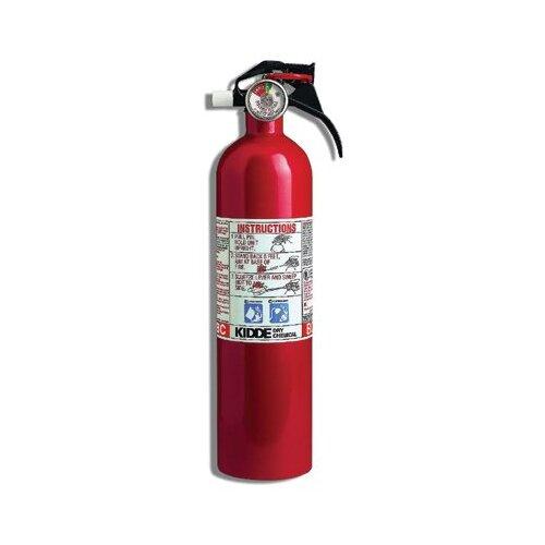 Kidde Kidde - Kitchen/Garage Fire Extinguishers 3 Lb. 10Bc Kitchen/Garage Fire Extinguisher: 408-466141 - 3 lb. 10bc kitchen/garage fire extinguisher