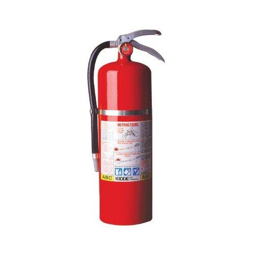 Kidde Kidde - Proplus Multi-Purpose Dry Chemical Fire Extinguishers - Abc Type 10Lb Abc Fire Ext.: 408-468002 - 10lb abc fire ext.