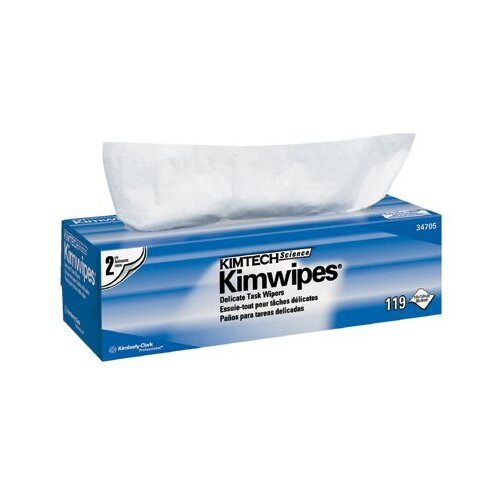 Kimberly-Clark Kimtech Science® Kimwipes® Delicate Task Wipers - kaydry ex-l white delicate task wipers
