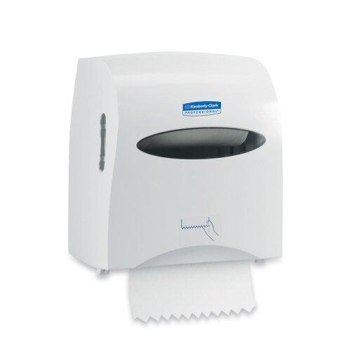 "Kimberly-Clark Professional* Scott Slimroll Hard Roll Hand Towel System, 12"" Wide"