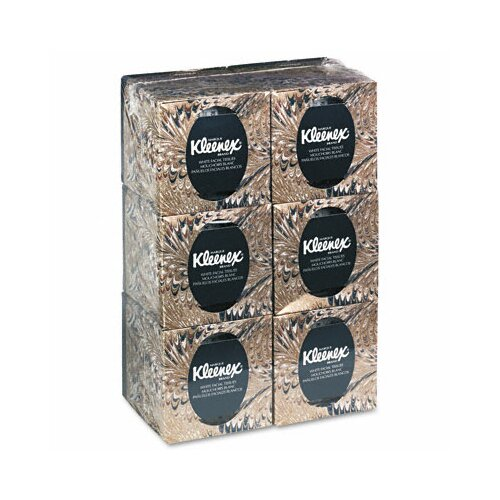 Kimberly-Clark Professional Kleenex Facial 2-Ply Tissue - 95 Tissues per Box / 6 Boxes per Carton