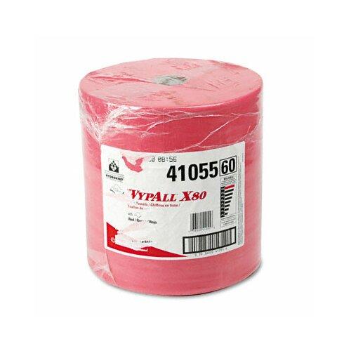 Kimberly-Clark Professional Wypall X80 Towels - 475 Sheets per Roll / 1 Rolls per Carton