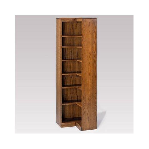 "Hale Bookcases 200 Signature Series Inside Corner 84"" Bookcase"