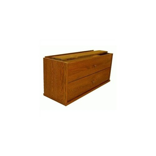 Hale Bookcases 300 Sectional Series Two Pullout Storage Drawers