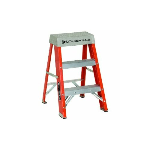 Louisville Ladder 3-Step FS1500 Series Step Stool