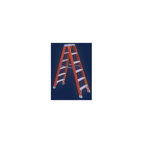 Louisville Ladder 4' Type IA Non-Conductive Twin Front Step Ladder