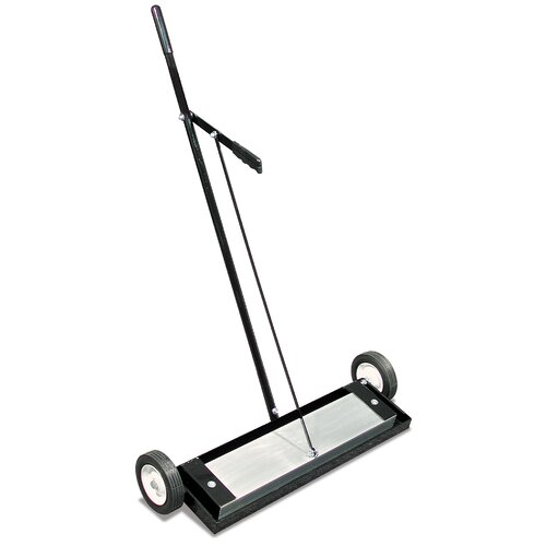 "Magnet Source 24"" Heavy Duty Magnetic Floor Sweeper With Reinforced Release"