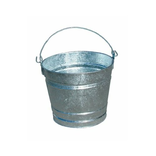 Magnolia Brush Galvanized Pails - 8qt. galvanized pailhot-dipped