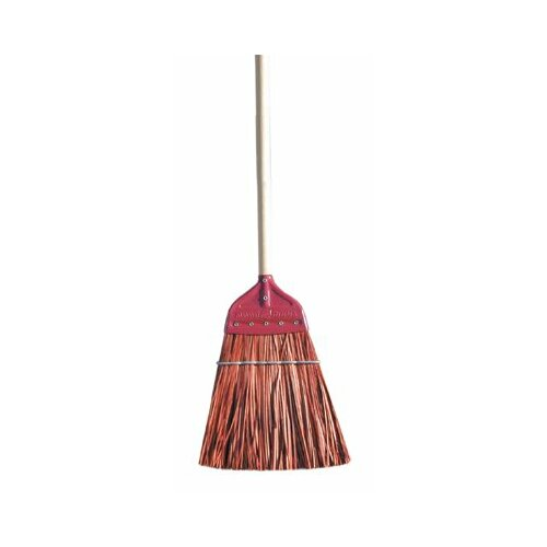 Magnolia Brush Metal Cap Brooms - brown polypro metal-capupright broom