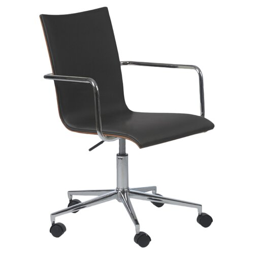 Madge Office Chair in Black