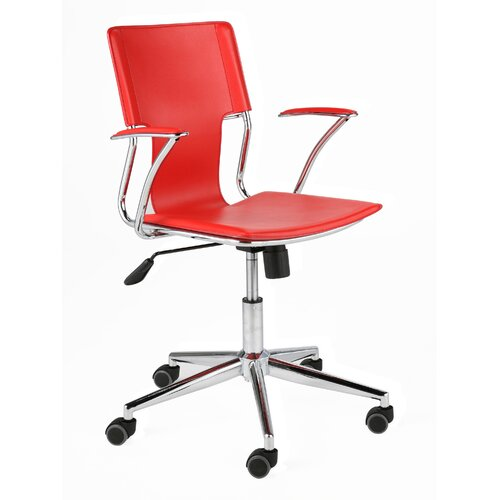 Eurostyle Terry High-Back Leatherette Office Chair with Arms