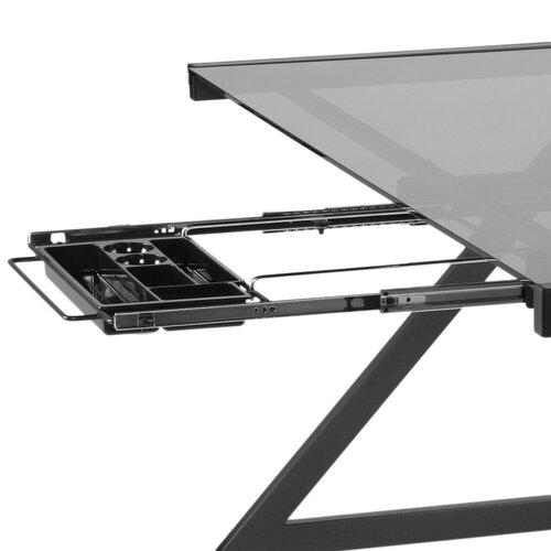 Eurostyle Z Deluxe Medium Writing Desk with Keyboard Tray