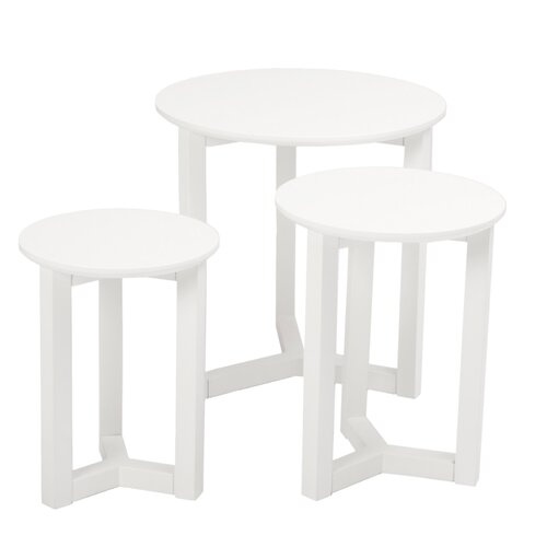 Nicolo 3 Piece Nesting Tables