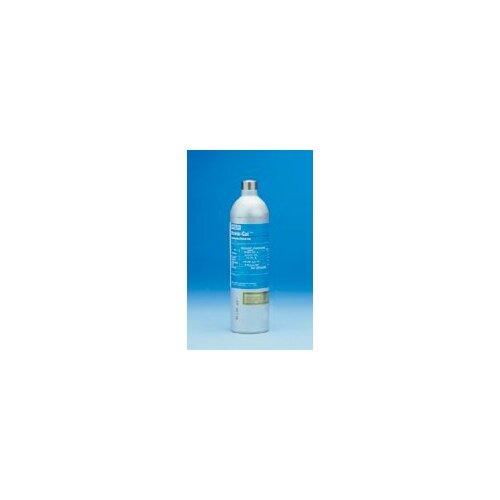 MSA Liter Econo-Cal Cylinder 60 PPM Carbon Monoxide, 0.0145 Methane, 0.15 Oxygen, 20 PPM Hydrogen Sulfide Balance Nitrogen Calibration Gas For Solaris® Multi-Gas Detector