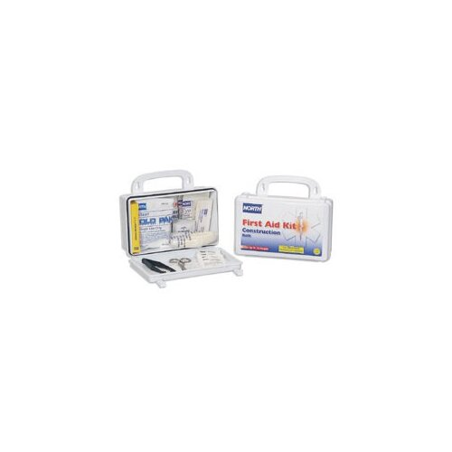 North Safety 10 Person Construction Bulk First Aid Kit