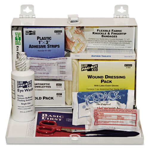Pac-Kit 25-Person Steel First-Aid Kit