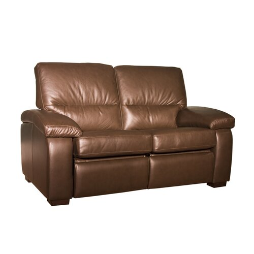 Midland Leather Reclining Loveseat
