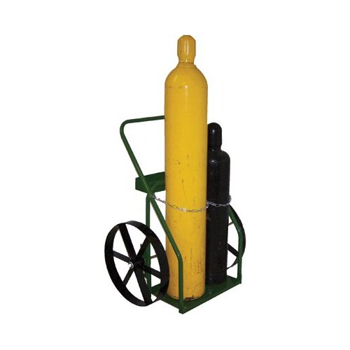 "Saf-T-Cart 800 Series Carts - cart with sc-15 wheel 24"" cylinder capacity"