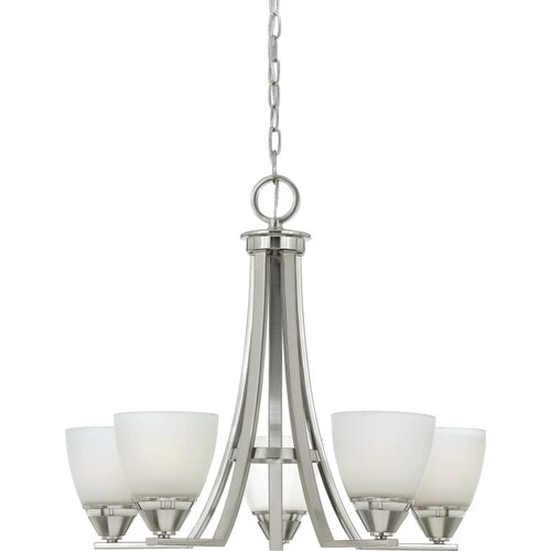 Ibsen 5 Up Light Chandelier
