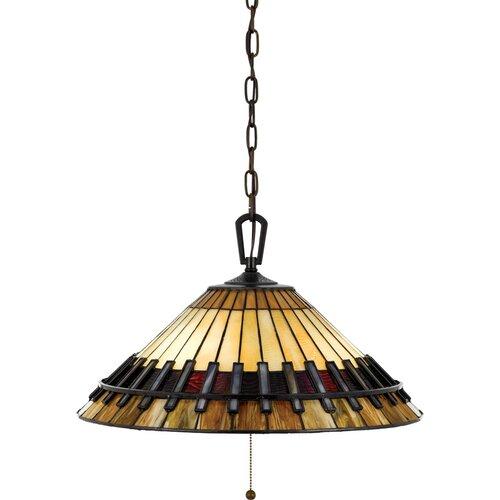 Quoizel Tiffany 3 Light Downlight Pendant