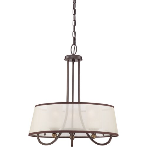 Palmer 2 Light Drum Pendant