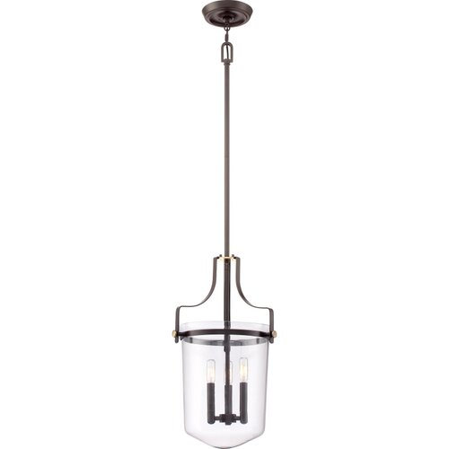 Uptown Penn Station 3 Light Mini Pendant