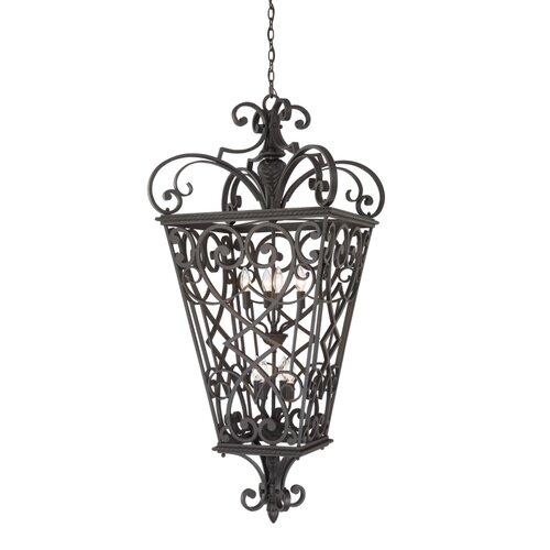 Quoizel French Quarter 8 Light Outdoor Hanging Lantern
