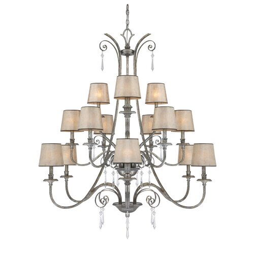 Quoizel Kendra 15 Light Chandelier