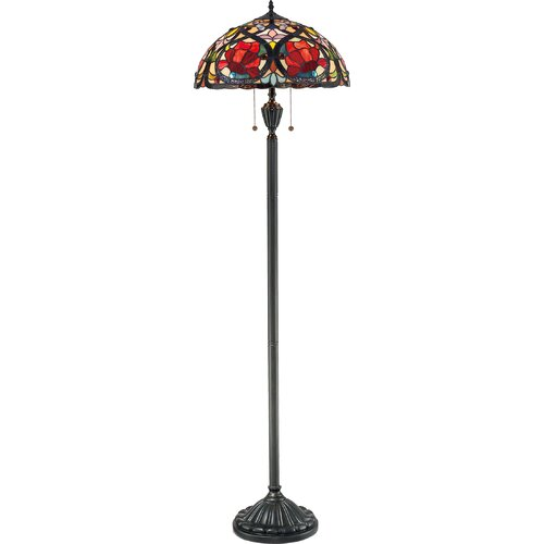 Quoizel Larissa Tiffany Floor Lamp