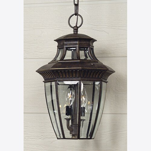 Quoizel Georgetown 3 Light Outdoor Wall Lantern