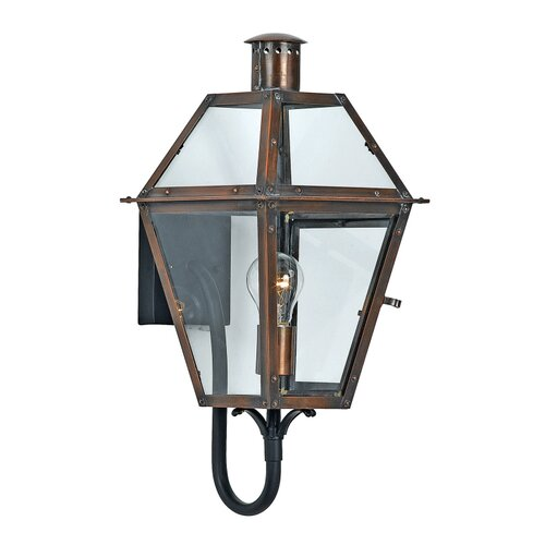 Quoizel Rue De Royal Outdoor Wall Lantern with Arm