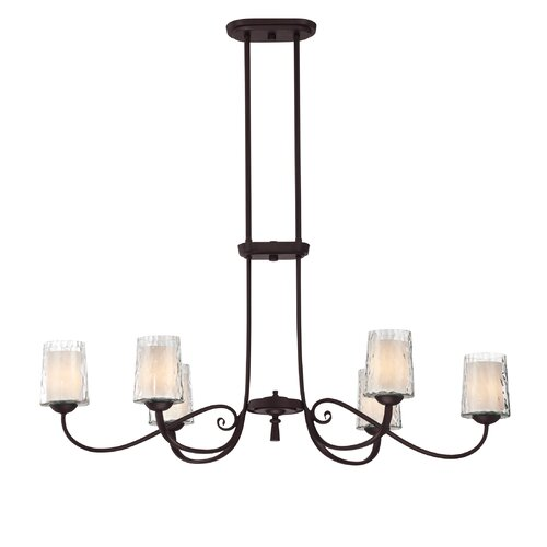Quoizel Adonis 6 Light Kitchen Island Pendant
