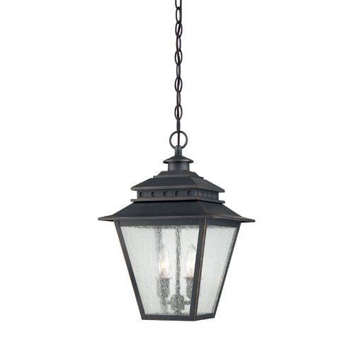 Quoizel Carson 2 Light Outdoor Hanging Lantern