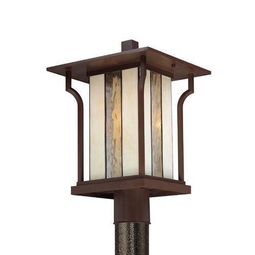 Quoizel Langston 1 Light Outdoor Post Lantern