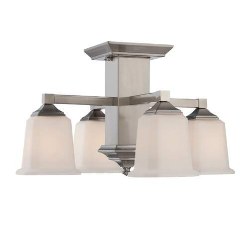 Quoizel Quoizel Fixture 4 Light Semi Flush Mount