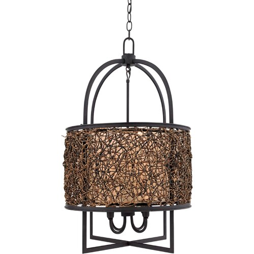Quoizel Fixture 4 Light Drum Pendant