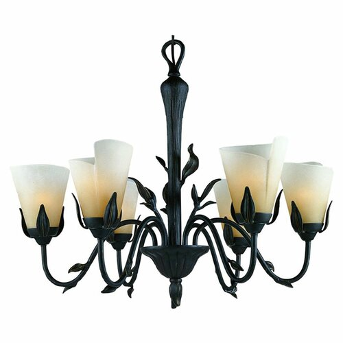 Yuma Chandelier in Imperial Bronze