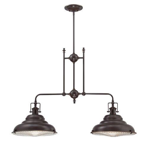 Eastvale 2 Light Kitchen Pendant Light