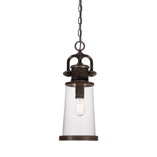 Quoizel Steadman 1 Light Outdoor Hanging Lantern & Reviews