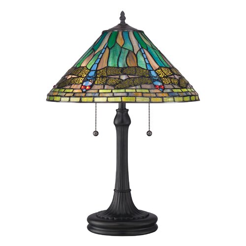"Quoizel King 24"" H Table Lamp with Empire Shade"