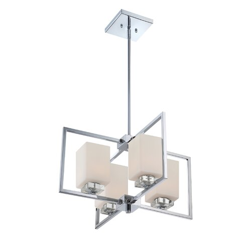 Wain 4 Light Chandelier