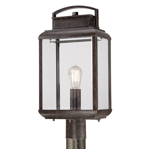 Quoizel Byron 1 Light Outdoor Post Lantern