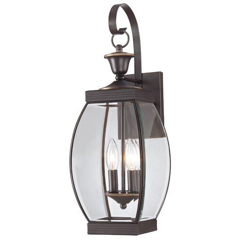 Quoizel Oasis 2 Light Outdoor Wall Lantern