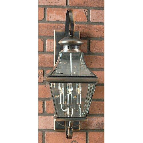 Quoizel Carleton Oula 3 Light Outdoor  Wall Lantern