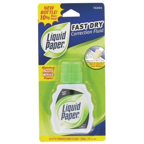 Sanford 0.74 oz. White Liquid Correction Fluid in White