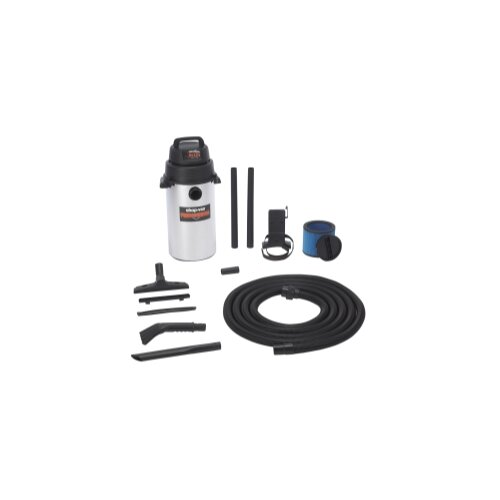 Shop-Vac Stainless Steel Wall Mount Garage Wet / Dry Vacuum