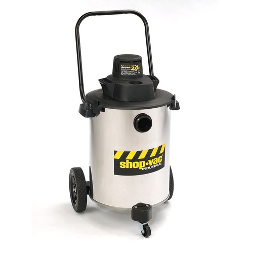 Shop-Vac Stainless Steel 10 Gallon 2.0 Peak HP Contractor Duty Wet / Dry Vacuum